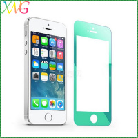 Best price color 9H-HD tempered glass Screen Guard cover Protector Film for Apple iphone 6 /iphone 5 5s mobile phone accessories