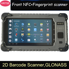 OEM 7 Inch quad core MTK6589T Quad-core Android WIFI/3G/GPS rugged tablet with fingerprint barcode scanner