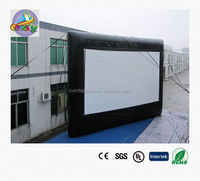 giant inflatable movie screen , airtight movie screen ,giant movie screen inflatable for sale