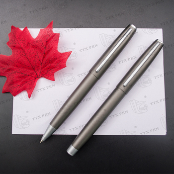 metal slim promotional signing pen