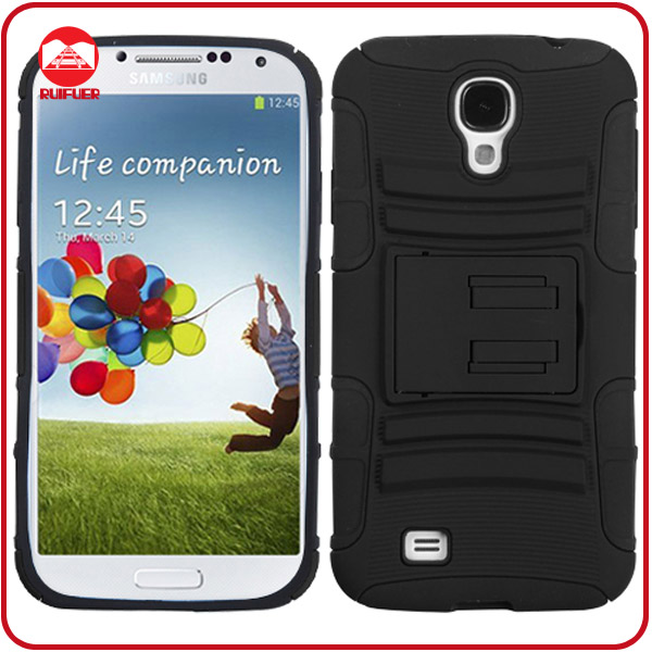 Hybrid Hard Case Cover Belt Clip Holster Case for Samsung Galaxy S4 i9500 S IV