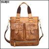 Real soft genuine leather shoulder handbag factory