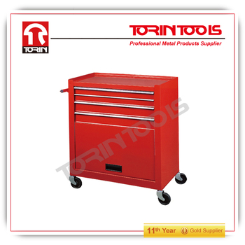 Promotion parts tool chest roller cabinet with four wheels