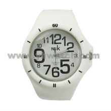 2012 New Fashion Silicone Jelly Mens Sport Watches