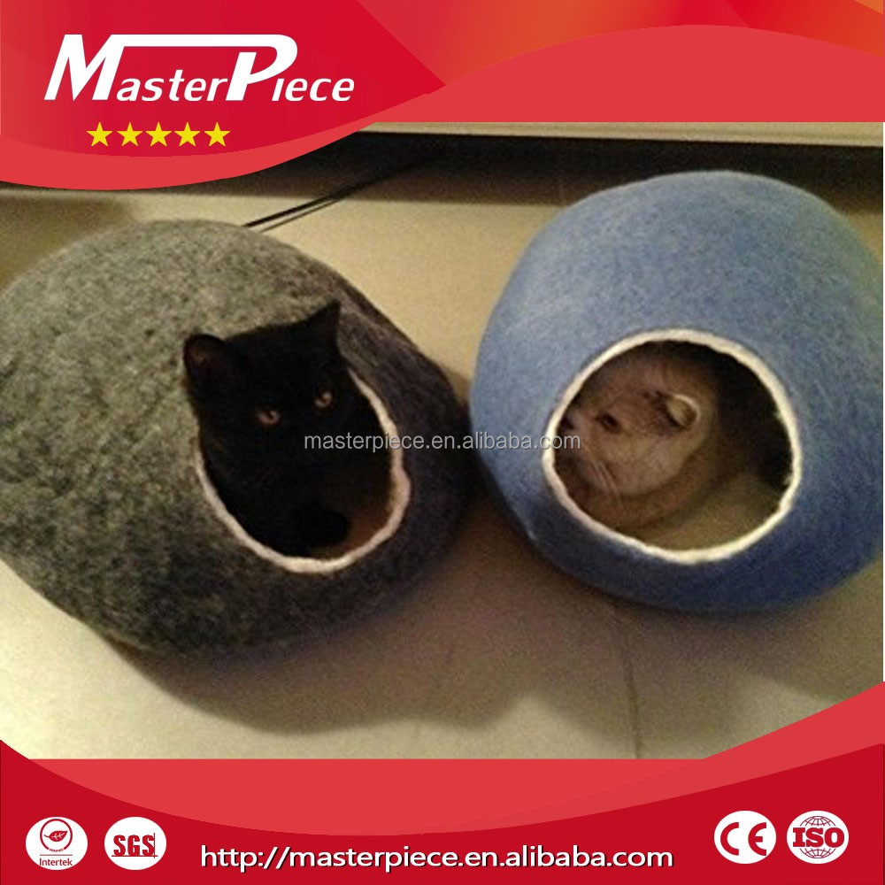 Manufacturer wholesale warm comfortable cat house/cave for <strong>pet</strong>/cat sleep mat