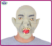 New !!! Wholesale Halloween Party Horror Grey white Witch Male old man latex mask