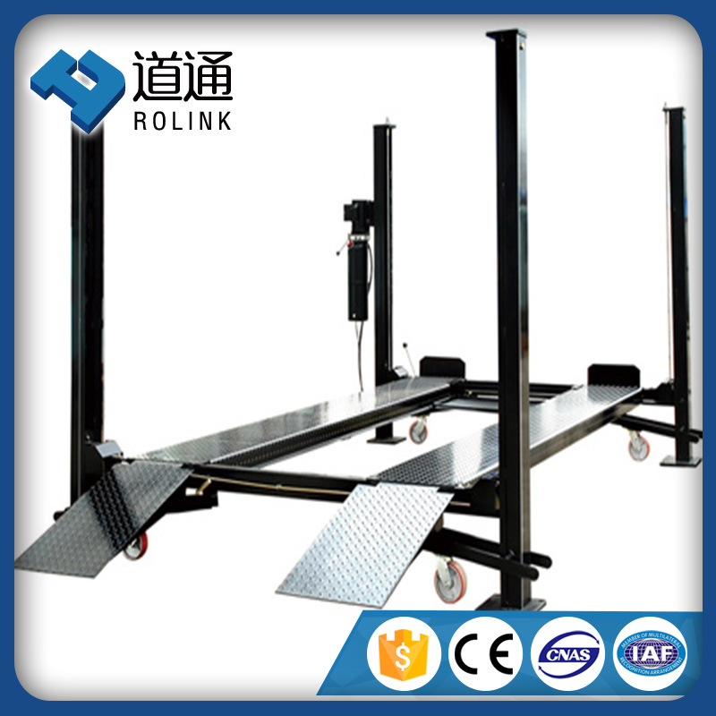 Professional safety cheap mobile 4 column hydraulic car lift