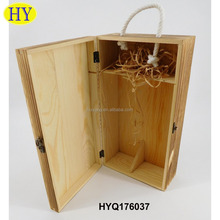 Wholesale Distressed Cheap Wooden Wine Crates for Sale