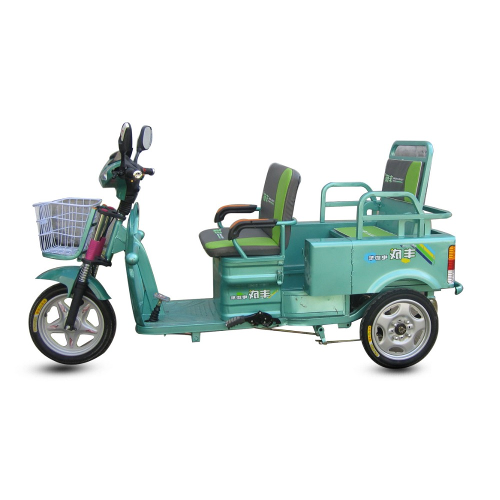 Easily Handled Chinese 3 Wheel Tricycle Bike Taxi