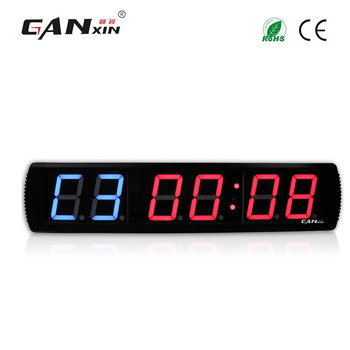 "[GANXIN]2018 Hot Selling 4"" Remote Control GYM Timer GYM Equipment Training Led Crossfit Timer"