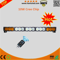 HT-24150 remote control amber flash light for car 150W multi color led light bar