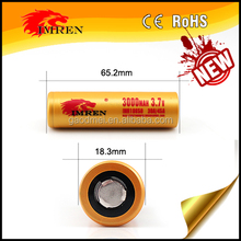High quality 18650 3000mah 45a IMREN imr battery , lithium ion car battery for electrical vehicles