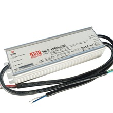Mean Well HLG-150H-36B IP67 1-10vdc pwm resistance dimmable 150w led driver