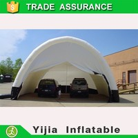 Best quality outdoor bubble tent/inflatable car cover