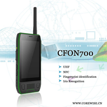 China 400-480MHz UHF Android based 2 way radio walkie talkie