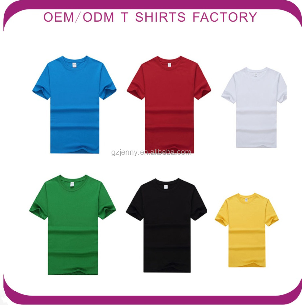 Wholesale Classical Model Crew Neck Blank T Shirt for Men