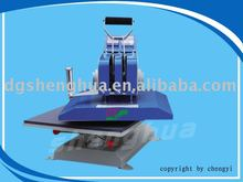 Swing t-shirt heat transfer printing machine ,turning heat press machine CY-Y1