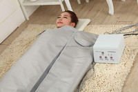 Hot selling body weight loss far infrared heated thermal slimming blanket with CE certificate
