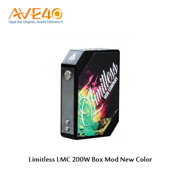 Express Ali Limitless LMC TC 200W Vape Box Mod with Four Unique Outlook from Ave40 in Wholesale