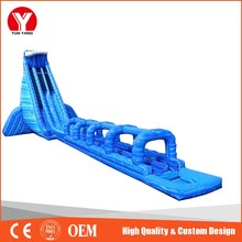 giant inflatable water slide, Hot used commercial 1000 ft slip n slide inflatable slide the city