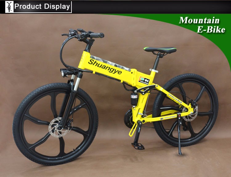 "26"" folding mountain electric dirt bikes sale for adults"