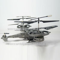 SG-H6400 - WECCANTOYS cool design rc copter! 4ch remote control twin-motored plane with built-in Gyroscope