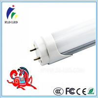 85-265V 50-60Hz >80LM/W 9W 18W 2FT 4FT PF>0.9 t8 led tube with battery backup
