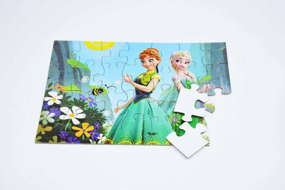 Chinese factory custom printable paper puzzle jigsaw