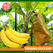 Deguo Banana growing protection brown kraft paper fruit packing bag