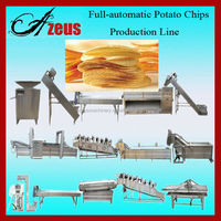 Hot Sale Extruded Snacks Production Line For Potato Chips French Fries