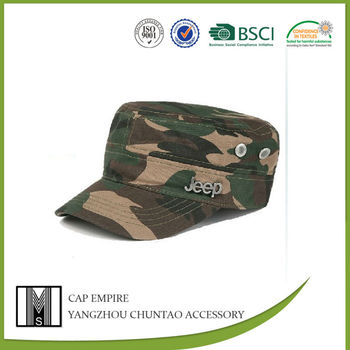BSCI audit Fashion military cap military style baseball cap