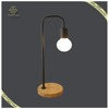2017 New arrival Nordic Style Portable Luminaire Reading Lamps,Black Iron Table Lamps