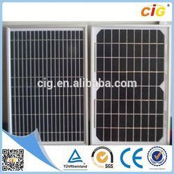 TUV Approved Durable 30w solar panel 18v
