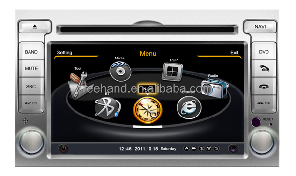 "6.2"" Factory Car Stereo for Hyundai I20 with Gps Navi,3G,Wifi,A8 Chipset ,Bluetooth,Ipod,Free map Support DVR,DVB-T"