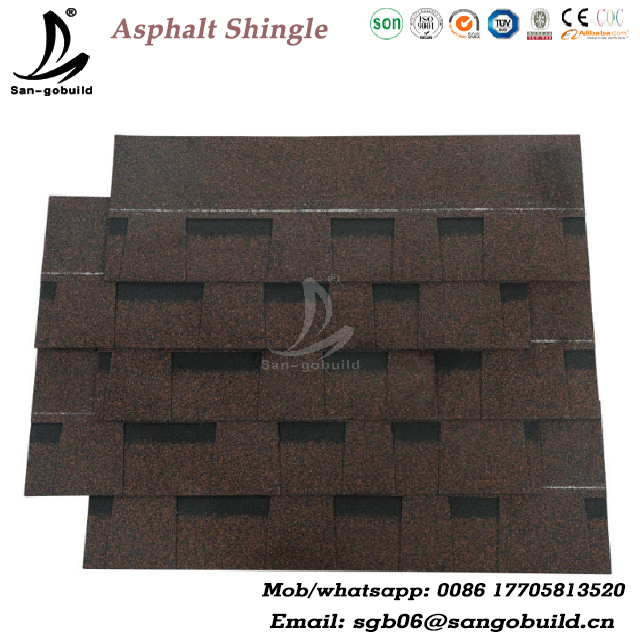 fibergalss roofing shingle in Kerala /guangzhou building material /metal roofing price asphalt shingles