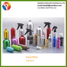 Different capacity Aluminum bottles/Aluminum cosmetic bottles with high quality wholesale