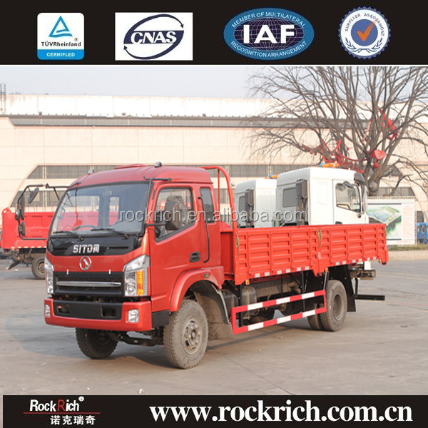 Chinese van truck light cargo truck 8 ton