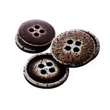 Pu leather jeans button plating buttons painted