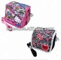 Digital Hello Kitty Camera Bag w/ Shoulder Strap Pink