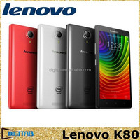 5.5inch Lenovo K80 K80M Dual SIM Intel 64Bit Quad Core 1920x1080 2GB RAM 32GB ROM 13MP GPS Android 4.4 4G LTE Mobile Phone