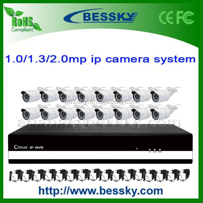 16ch h 264 network dvr network viewer kits 4 channel 12v dvr recorder BE-6016SLIPWH