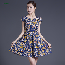 China Fabric Textiles Supplier Custom Printed Cotton Sateen Fabrics For Women Dress