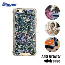 bigyes pu epoxy antigravity shock absorber production shell sublimation cell phone case