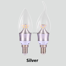 Bright E14 LED Candle Bulb Lamp 3W 5W Energy Saving Bombillas Led Lights 220V Ampoule Led for Chandelier decoration Lighting