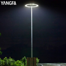 Outdoor Antitrust Metal Poles For Square High Mast Flood Light Price