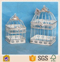 cheap antique vintage iron bird cages wholesale for garden decor. HW15A00583
