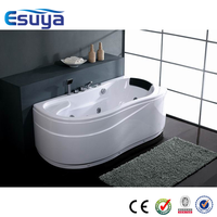 Simple cheap hot selling China supplier mini free standing whirlpool bathtub