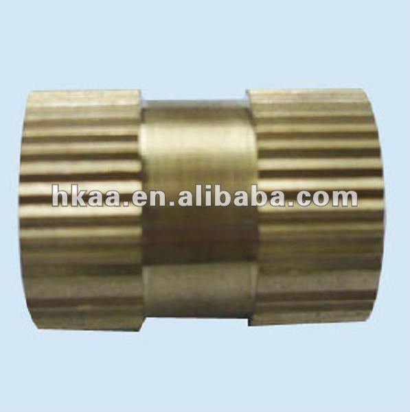china OEM factory brass Knurled M6 Insert Nut