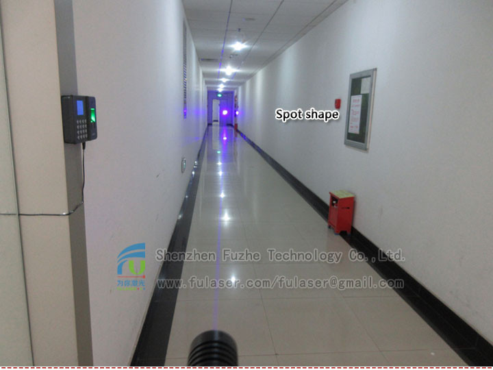 FU450AD1500-BD26 450nm 1500mW blue dot laser with adjustable focus 26*110mm blue laser pointer, blue pointer laser, blue pointer