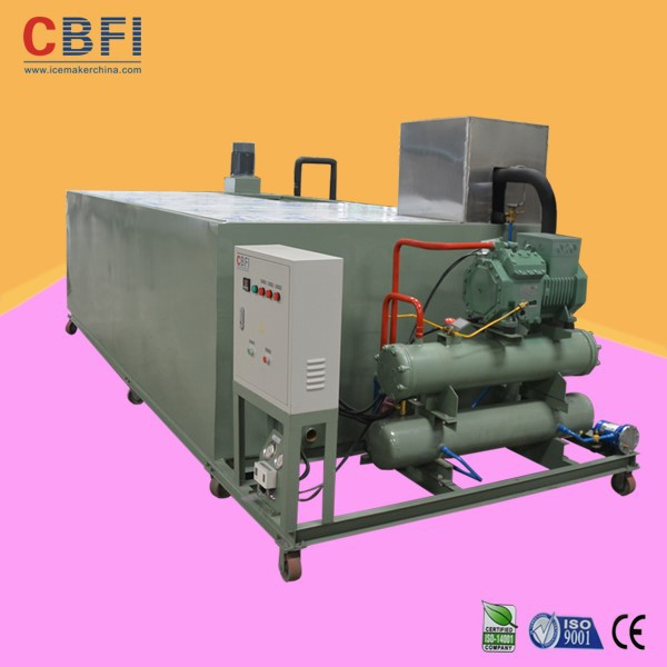 R22 refrigerant ice block making machine for United Kingdom